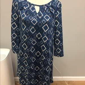 New Directions Blue Dress Size Small